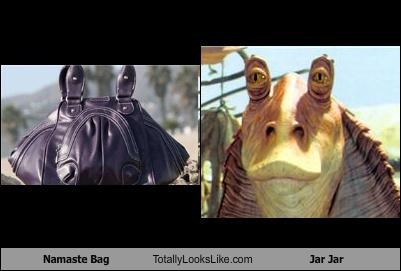 Namaste Bag Totally Looks Like Jar Jar
