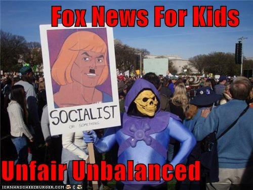 Fox News For Kids  Unfair Unbalanced