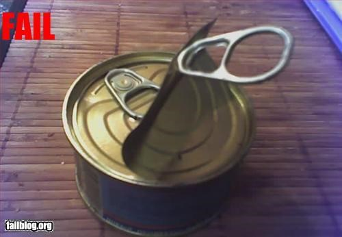 Opening a can FAIL