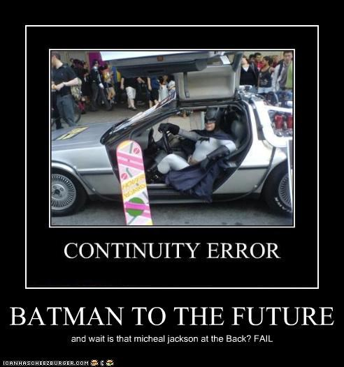 BATMAN TO THE FUTURE