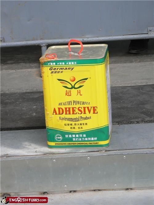 adhesive,engrish,glue