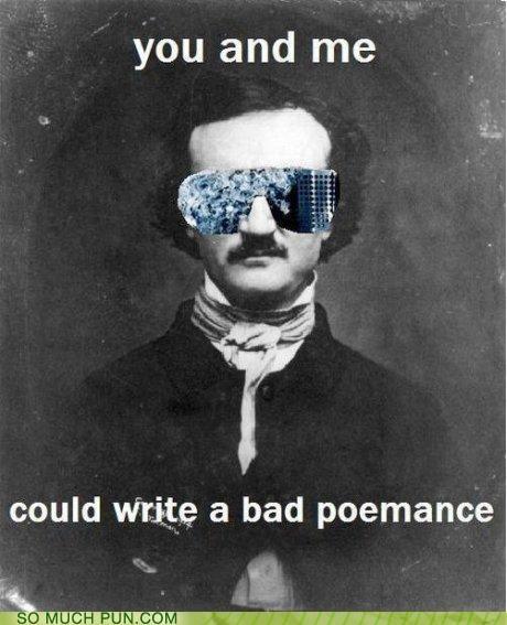 bad romance,edgar allen poe,lady gaga,lyrics,parody,poem,poems,rewrite,song,titles