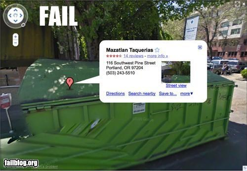 Mexican Restaurant Street View Fail
