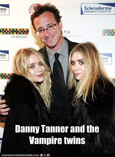 Danny Tanner and the Vampire twins