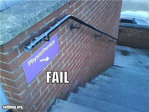 Physiotherapy Location Fail