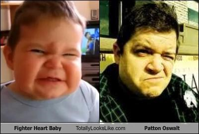 Fighter Heart Baby Totally Looks Like Patton Oswalt