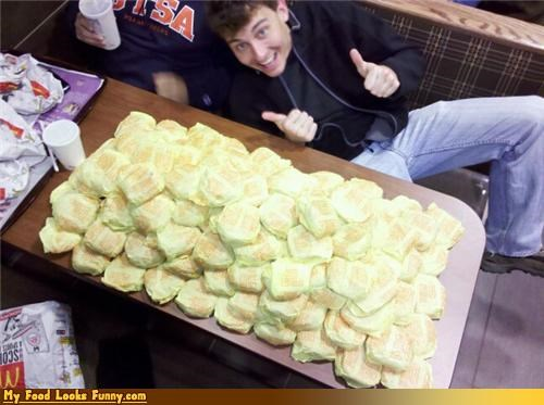 Funny Food Photos - Too Many Cheeseburgers