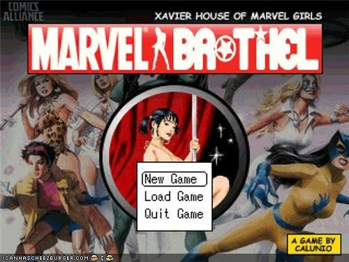 Marvel Brothel: You Know You Want It