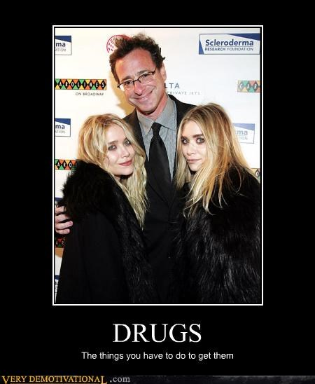 bob saget,celebutards,drugs,implications,Sad,the olsen twins