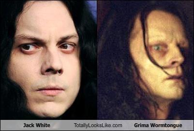 grima wormtongue,jack white,the white stripes