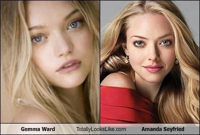 Gemma Ward Totally Looks Like Amanda Seyfried