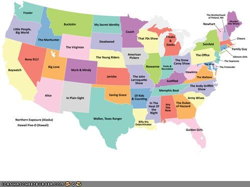 Infographic: TV Shows By State