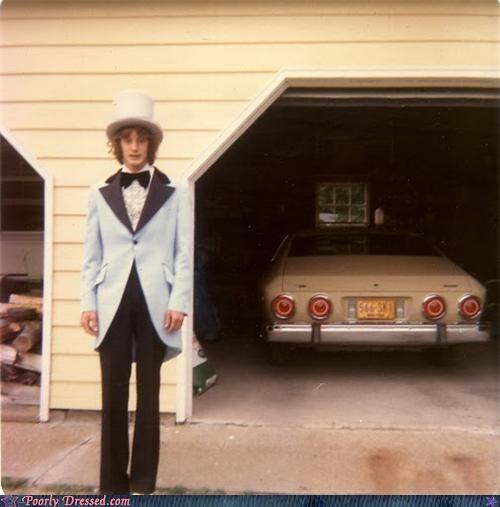 bad idea,car,prom,suit