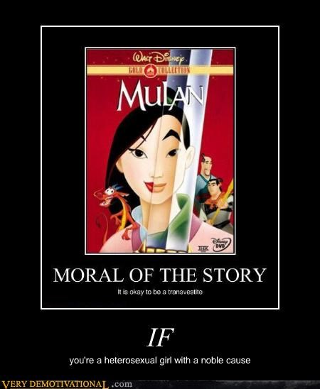 mulan,story,noble cause,shemale