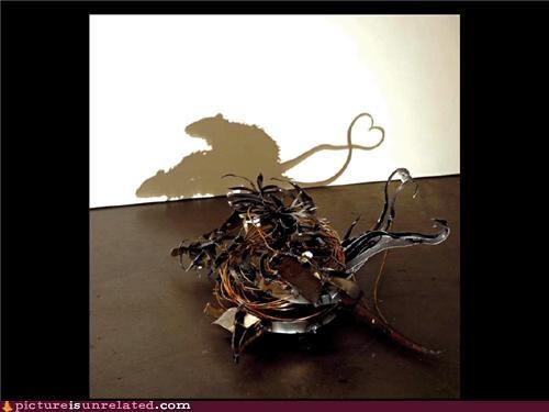 art,doing it,rats,shadows,wtf