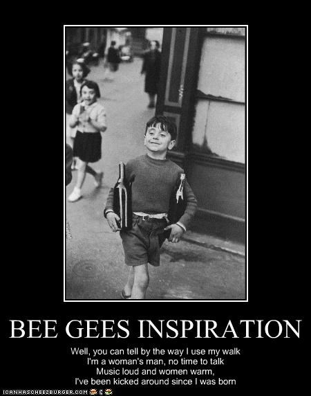 BEE GEES INSPIRATION