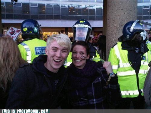 Happy Riot Cop is Happy