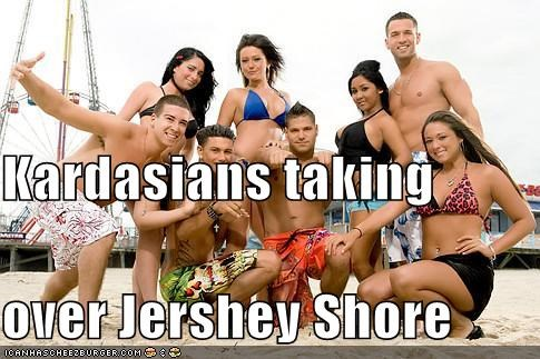 Kardasians taking over Jershey Shore