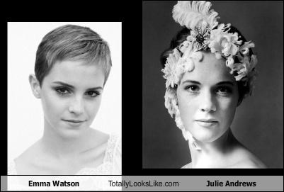 Emma Watson Totally Looks Like Julie Andrews