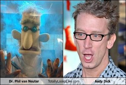 Dr. Phil van Neuter Totally Looks Like Andy Dick