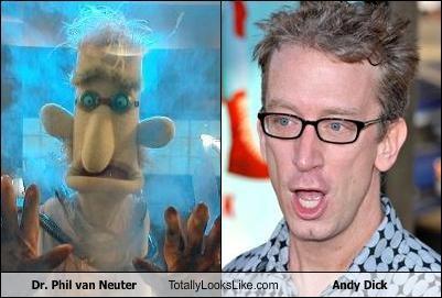 Dr. Phil van Neuter Totally Looks Like Andy Dick
