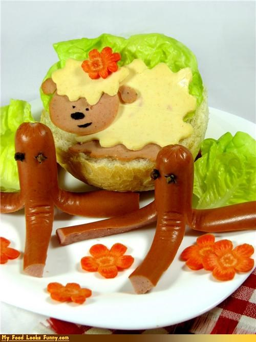 Hot Dog-topus!