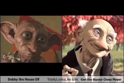 Dobby the House Elf Totally Looks Like Geri the Bipolar Chess Player