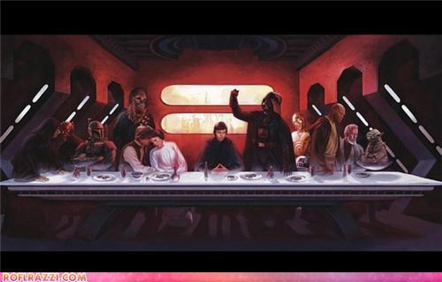religion,art,last supper,sci fi,star wars