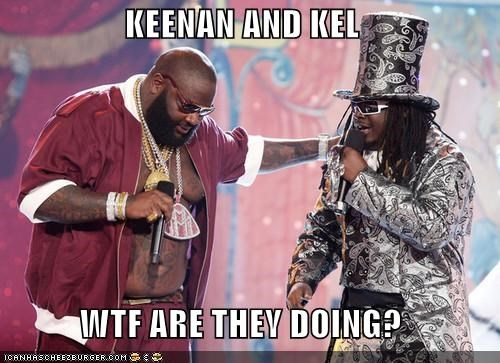 KEENAN AND KEL  WTF ARE THEY DOING?