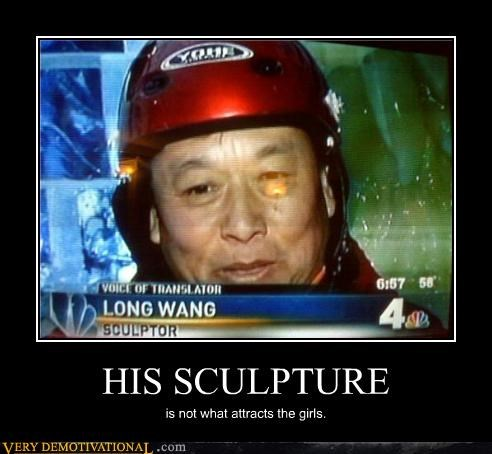 HIS SCULPTURE