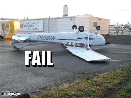 Pilot Training Fail