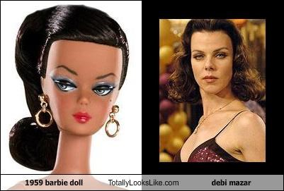 1959 barbie doll Totally Looks Like debi mazar