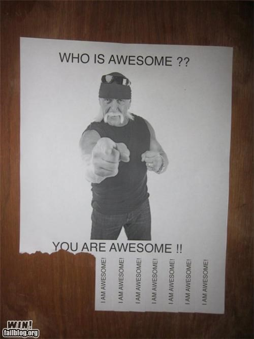 Who Is Awesome WIN