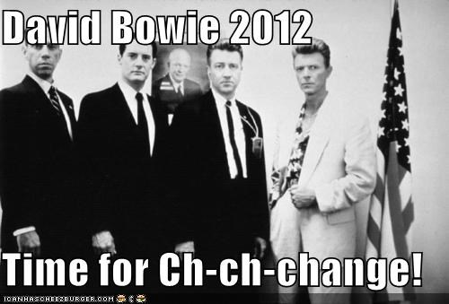 David Bowie 2012  Time for Ch-ch-change!