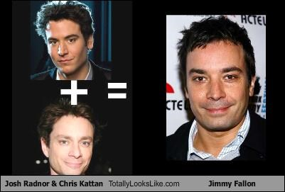 Josh Radnor & Chris Kattan Totally Looks Like Jimmy Fallon
