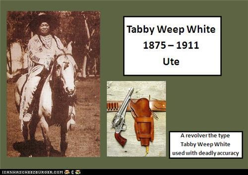 Native American History - Tabby Weep White
