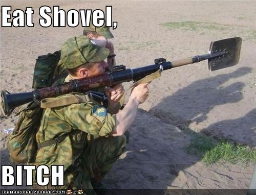 Eat Shovel, BITCH