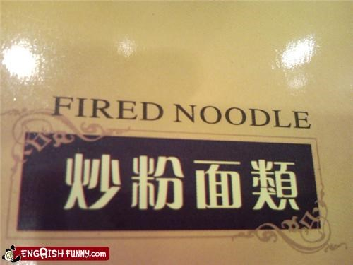 Who Hired That Noodle In The First Place?