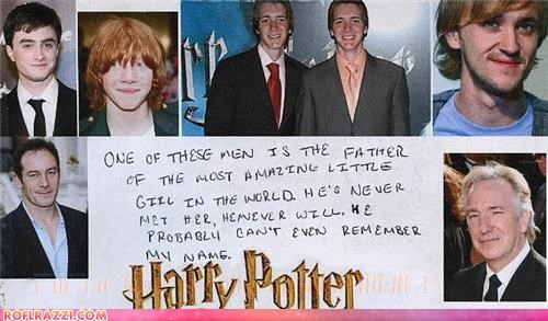 Harry Potter Rumors: Secret Baby?