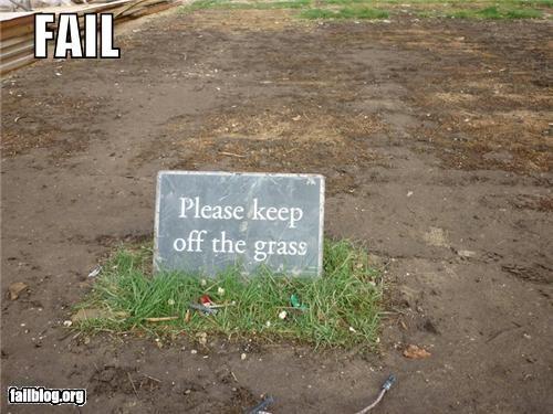 Grass Fail
