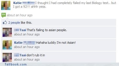 Being Asian FTL