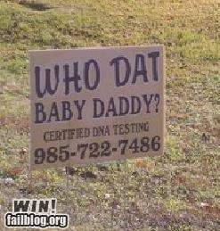 Paternity Test Company WIN