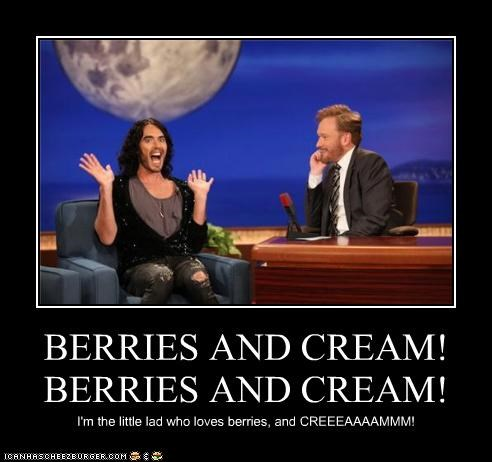 BERRIES AND CREAM!