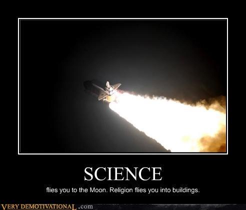 debate,modern living,religion,rockets,science