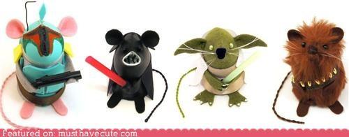 characters,mice,mini,Movie,nerdy,star wars