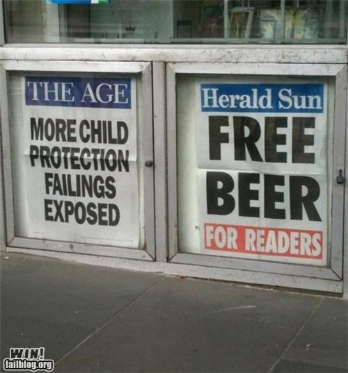 Newspaper WIN
