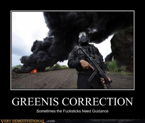 GREENIS CORRECTION