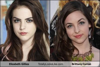 Elizabeth Gillies Totally Looks Like Brittany CurranBrittany Curran And Elizabeth Gillies