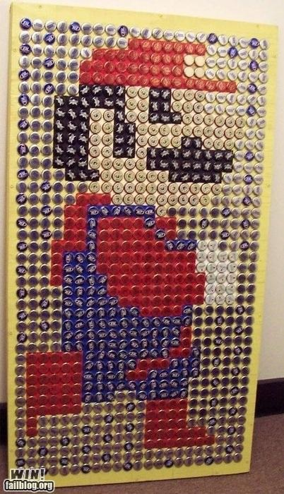 Bottle Cap Mario WIN
