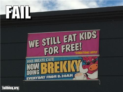 Kids Eat Free FAIL